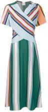 Paul Smith - Vestito a righe - women - Silk/Polyamide/Acetate/Viscose - 42 - Multicolore