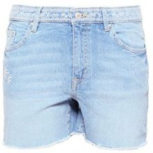 edc by Esprit 048cc1c012, Pantaloncini Donna, Blu (Blue Light Wash 903), W27