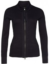 Marc Cain Essentials 31.47 J50, Cardigan Donna, Blau (Midnight Blue 395), 42