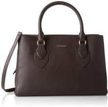 Twin Set Aa7pbb, Borsa Tote Donna, Marrone (Dark Brown), 13x23x36 cm (W x H x L)