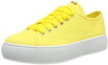 ESPRIT Barbie Lu, Scarpe da Ginnastica Basse Donna, Giallo (Yellow), 42 EU