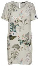ONLY Floral Printed Dress Women Grey