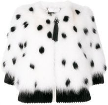 Cara Mila - Giacca 'Darla' - women - Fox Fur/Mink Fur - 40 - WHITE