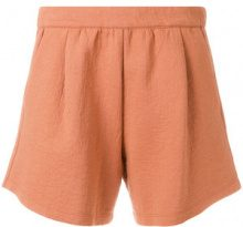 Humanoid - Shorts 'Freda' - women - Cotton/Polyamide - S - YELLOW & ORANGE