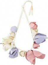 Marni - Collana appariscente con fiori - women - Cotone - One Size - Multicolore