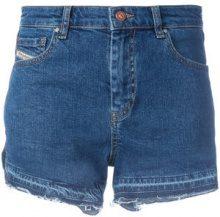 Diesel - Shorts in denim - women - Cotone/Leather - 27, 28, 29 - BLUE