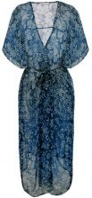 Mes Demoiselles - floral print kimono - women - Viscose - OS - BLUE