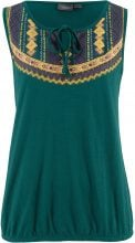 Top di jersey in filato fiammato (Verde) - bpc bonprix collection