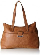 Gerry Weber Be Different Shopper Lhz - Borse a spalla Donna, Braun (Cognac), 12x31x41 cm (B x H T)