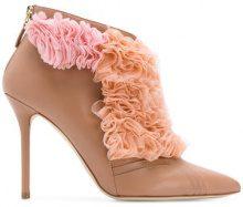 Malone Souliers - Stivaletti con dettaglio in tulle - women - Polyester/Nappa Leather/Leather - 36, 37, 38, 39, 41 - PINK & PURPLE