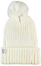 Bench Turn Up Fur Pom Beanie, Cuffia Donna, Bianco (Snow White Wh11210), Taglia unica