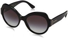 Dolce & Gabbana 0DG4320 501/8G 56, Occhiali da Sole Donna, Nero (Black/Gradient)