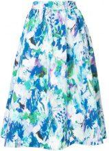 Han Ahn Soon - full floral print skirt - women - Polyester/Cupro - OS - MULTICOLOUR