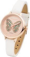 Orologio con farfalla (Bianco) - bpc bonprix collection