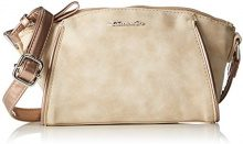 TamarisDelfina Crossbody Bag - Borsa a Tracolla Donna, Beige (Sand Comb), Taglia Unica