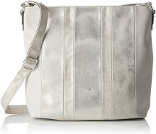 Tom Tailor Acc Cleo Donna Borse a spalla Argento (Silber) 12x30x32 cm (B x H x T)