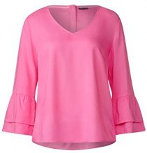 Street One 340833, Blusa Donna, Rosa (Flamingo Pink 11272), 46