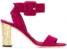 Brian Atwood - Sandali con cinturino alla caviglia - women - Leather/Suede - 36.5, 37.5, 38, 39.5 - PINK & PURPLE