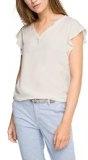 ESPRIT 046ee1k012-Flügelärmeln, T-Shirt Donna