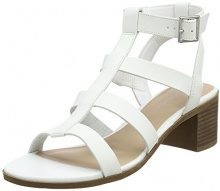 New Look Pop, Sandali Punta Aperta Donna, Turquoise (White 10), 39 EU