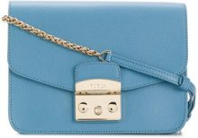 Furla - Metropolis S crossbody - women - Calf Leather - One Size - Blu