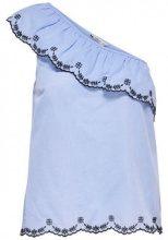 ONLY Off Shoulder Sleeveless Top Women Blue
