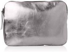 Liebeskind Berlin Emeliew7 Memila - Borse per PC portatili Donna, Silber (Rock Grey Metallic), 1x24x32 cm (B x H T)