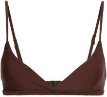 Matteau - Top bikini - women - Nylon/Spandex/Elastane - 14 - Marrone