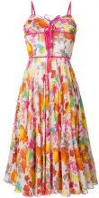 - Christian Dior Vintage - floral midi dress - women - Silk - 36 - Multicolore