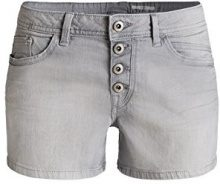 edc by Esprit 056CC1C019-Printed, Shorts Donna, Grau (Grey Medium Wash 922), W33