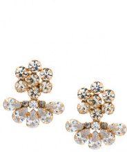 Serpui - embellished earrings - women - metal - OS - METALLIC