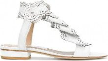 Rue St - Sandali laser cut - women - Leather - 35, 36, 37, 39, 40 - WHITE