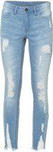 Jeans super skinny Destroyed (Blu) - RAINBOW