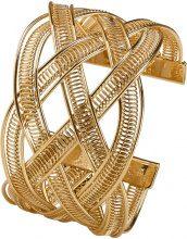 Bracciale rigido intrecciato (Oro) - bpc bonprix collection