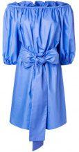 - Stella McCartney - Vestito con spalle scoperte - women - cotone - 40, 42, 38 - di colore blu