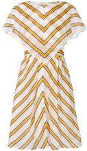Fendi - Vestito a righe - women - Cotone/Silk/Polyester - 36, 38, 40, 42, 44, 46 - Bianco