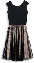 ESPRIT Collection 087eo1e019, Vestito Donna, Multicolore (Black 001), 40