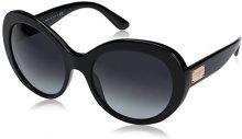 Dolce & Gabbana 0DG4295 501/8G, Occhiali da Sole Donna, Nero (Black/Gradient), 57