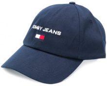 Tommy Jeans - Cappello con logo - men - Cotone - OS - BLUE