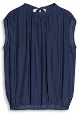 ESPRIT Collection 077eo1f006, Camicia Donna, Blu (Navy 400), 38