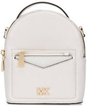 Michael Michael Kors - Jessa extra small backpack - women - Calf Leather - One Size - WHITE