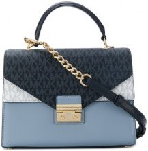 Michael Michael Kors - Sloan satchel bag - women - Leather - OS - Blu