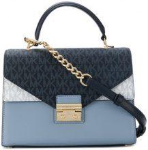 Michael Michael Kors - Sloan satchel bag - women - Leather - OS - BLUE