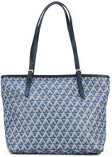 Lancaster - Ikon tote - women - Leather/Polyurethane - OS - BLUE