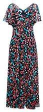 ESPRIT Collection 038eo1e022, Vestito Elegante Donna, Blu (Navy 400), 40 (Taglia Produttore: 34)