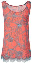 Marc Cain Collections GC 61.28 W57, Canottiera Donna, Multicolore (Sunrise 468), 44