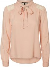 VERO MODA Lace Long Sleeved Blouse Women Pink