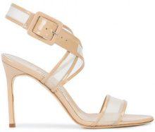 Manolo Blahnik - Katiame 105 sandals - women - Leather/Suede - 36, 36.5, 37.5, 39, 41 - NUDE & NEUTRALS