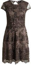 ESPRIT Collection 016Eo1E011 - Lace, Vestito Donna, Marrone (Taupe 240), 36 (Taglia produttore: S)