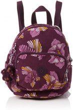 Kipling Mini Backpack - Zaini Donna, Mehrfarbig (Herridage Fl), 17x19x21.5 cm (B x H T)